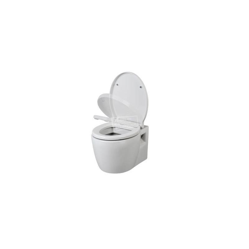 Plieger Toiletzitting Softclose.Plieger Novanta Wandcloset Pack Wit Incl Softclose Toiletzitting 36x40x56